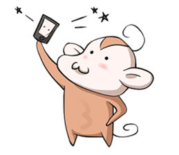 Monkey Knows Story sticker #3448014