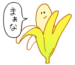 Very banana!! sticker #3450801