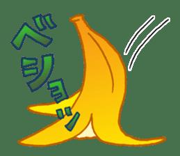 Very banana!! sticker #3450805