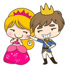 Sweet Royal couple