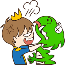 Sweet Royal couple sticker #3455204