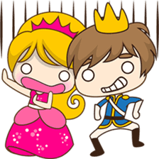 Sweet Royal couple sticker #3455207