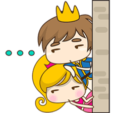 Sweet Royal couple sticker #3455217