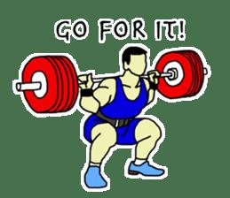 Let's lift! sticker #3471243