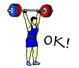 Let's lift! sticker #3471245