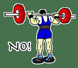 Let's lift! sticker #3471246