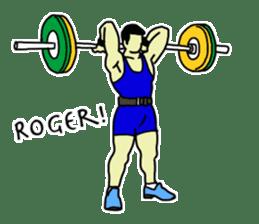 Let's lift! sticker #3471247
