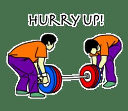 Let's lift! sticker #3471253