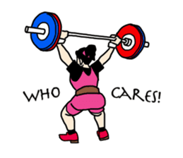 Let's lift! sticker #3471256