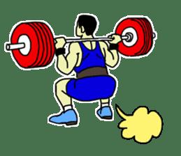 Let's lift! sticker #3471261