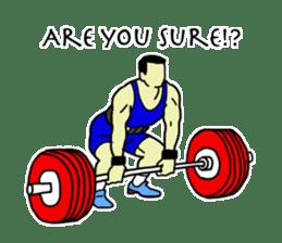 Let's lift! sticker #3471266