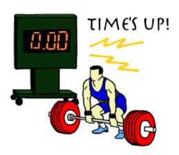 Let's lift! sticker #3471273