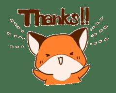 A Fox Kit sticker #3473027