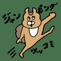 TUKKOMI animals sticker #3475769