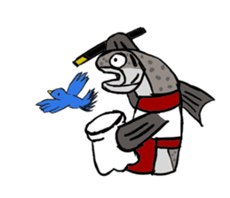 Fisheries Market 01 sticker #3478691