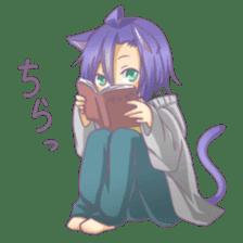 Nekomimi-kun sticker #3485857