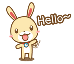 Tokki Toki Rabbit 1.5 sticker #3494602