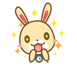 Tokki Toki Rabbit 1.5 sticker #3494607
