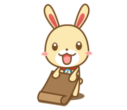 Tokki Toki Rabbit 1.5 sticker #3494608