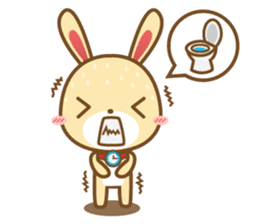 Tokki Toki Rabbit 1.5 sticker #3494609
