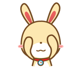Tokki Toki Rabbit 1.5 sticker #3494619