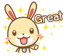 Tokki Toki Rabbit 1.5 sticker #3494625