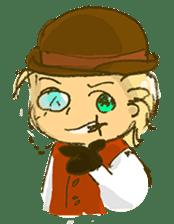 Sassy Steampunk Life sticker #3499778
