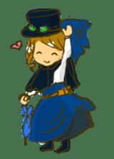 Sassy Steampunk Life sticker #3499799