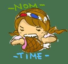 Sassy Steampunk Life sticker #3499803