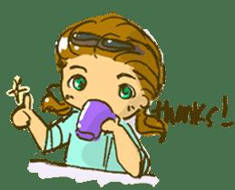 Sassy Steampunk Life sticker #3499811