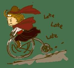 Sassy Steampunk Life sticker #3499813