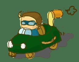 Sassy Steampunk Life sticker #3499816