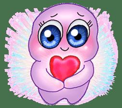 MoongMing, The cute pink ameba sticker #3504389