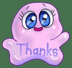 MoongMing, The cute pink ameba sticker #3504394