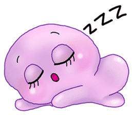 MoongMing, The cute pink ameba sticker #3504399
