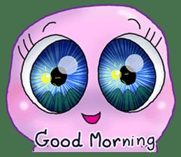 MoongMing, The cute pink ameba sticker #3504401