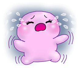 MoongMing, The cute pink ameba sticker #3504404