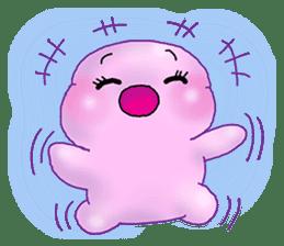 MoongMing, The cute pink ameba sticker #3504405