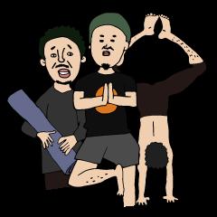 Yoga lovers Yoga man yoga boys Vol.03