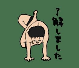 Yoga lovers Yoga man yoga boys Vol.03 sticker #3509423
