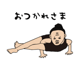 Yoga lovers Yoga man yoga boys Vol.03 sticker #3509453