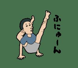 Yoga lovers Yoga man yoga boys Vol.03 sticker #3509457