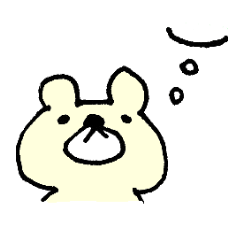 Bear feelings