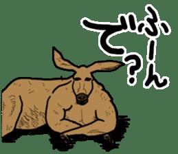 kangaroo's life sticker #3522306
