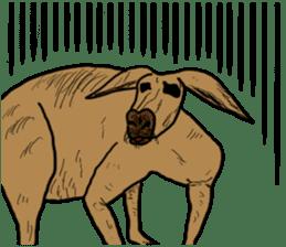 kangaroo's life sticker #3522313