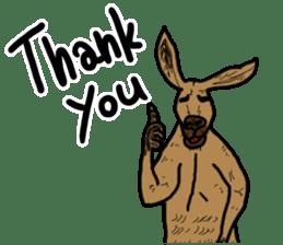 kangaroo's life sticker #3522317