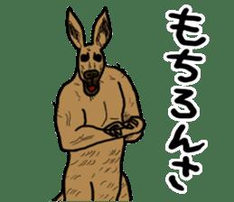 kangaroo's life sticker #3522335