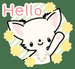 Kawaii Chihuahua 3 (English) sticker #3523298