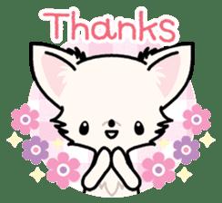 Kawaii Chihuahua 3 (English) sticker #3523299