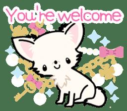 Kawaii Chihuahua 3 (English) sticker #3523304